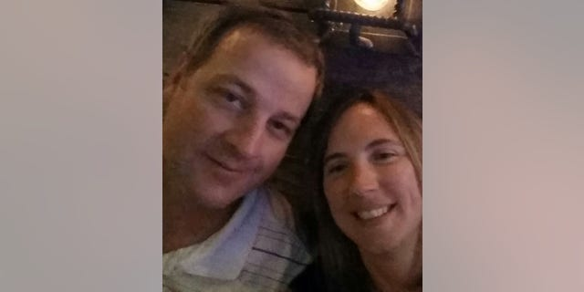 Kevin Wayne Sharp and his wife Amy Marie Sharp, pose for a selfie, at an unspecified location, in this picture uploaded to Facebook on September 18, 2014. Amy Sharp via REUTERS ATTENTION EDITORS - THIS IMAGE WAS PROVIDED BY A THIRD PARTY. NO RESALES. NO ARCHIVES. MANDATORY CREDIT: AMY SHARP - RC1FA0610570