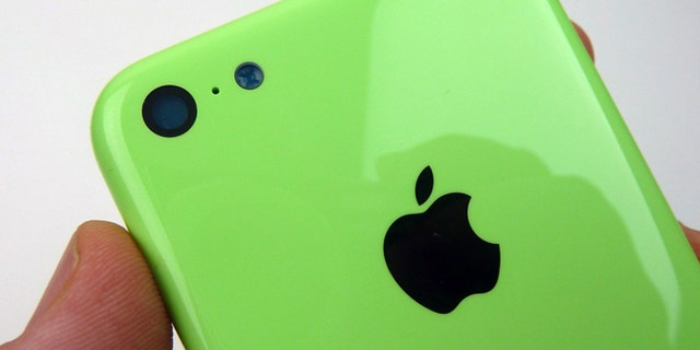 """The brightly colored housing of an iPhone 5C -- according to <a href=""""http://www.sonnydickson.com/2013/08/11/gallery-green-iphone-5c-back-housing/"""">Apple enthusiast Sonny Dickson</a>."""
