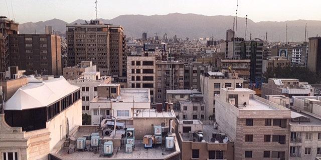 Tehran early morning