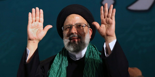 Iranian presidential candidate cleric Ebrahim Raisi.