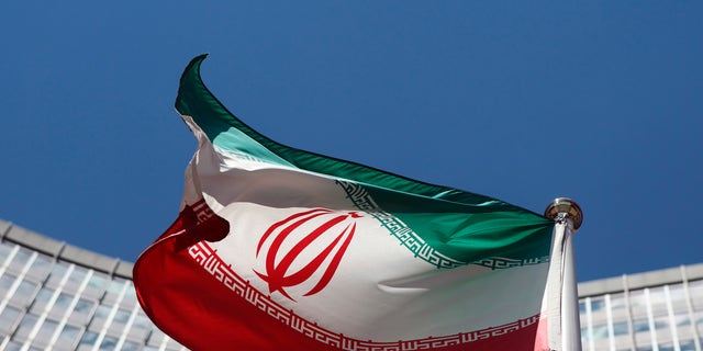 June 17, 2014 - An Iranian flag at United Nations headquarters in Vienna. The U.N. nuclear agency said Friday its attempts to probe allegations that Tehran worked on nuclear weapons were deadlocked -- which may rule out hopes of a full nuclear deal between 6 world powers and Iran by the Nov. 24 target.