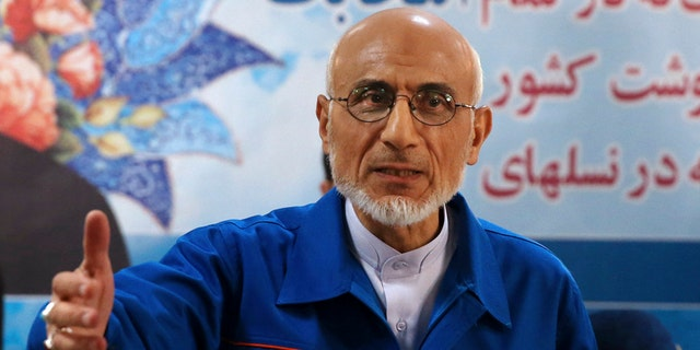 Iranian presidential candidate Mostafa Mirsalim.