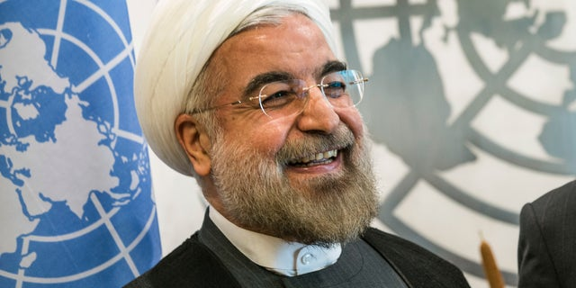Iranian President Hassan Rouhani claims to be a moderate, but he has had little positive impact on the plight of religious minorities in the Islamic republic. (AP)