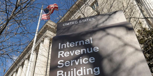 March 22, 2013: This file image shows the exterior of the Internal Revenue Service building in Washington. (AP)