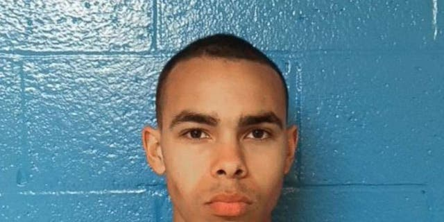 Isaiah Kahleal Evans Caeser, 18, was charged with murder and served a fugitive warrant for desertion.