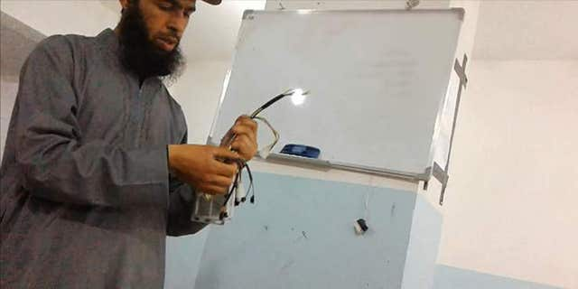 Inside the ISIS weapons lab.