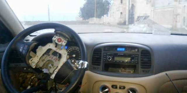 "ISIS ""driverless"" car bomb."