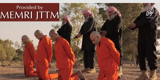 The video ends with a warning to Shia Muslims - and more executions.