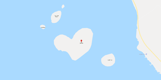 Google Maps users are intrigued by a heart-shaped island off the coast of Croatia.