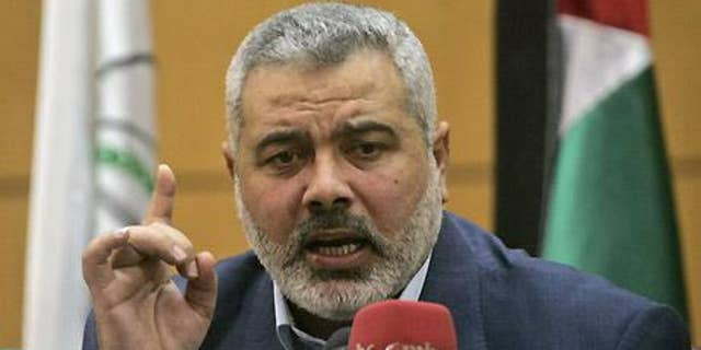 Ismail Haniyeh turns to Israel when his family needs medical attention. (AP)