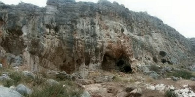 Misliya Cave, where the fossil jawbone was discovered (SWNS)