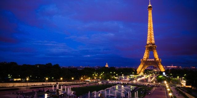 The lights on the Eiffel Tower are an artistic work, according to the Société d'Exploitation de la Tour Eiffel.