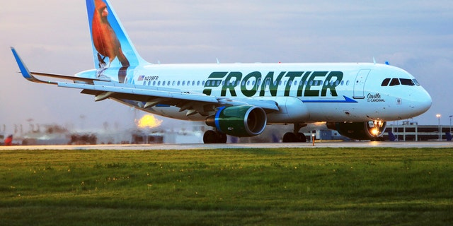Frontier Airlines said its policy bars children younger than seven-days old from flying.