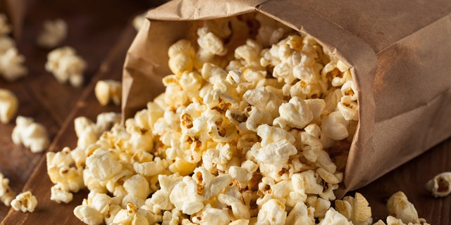 When you eat popcorn with chopsticks, you pay more attention and you are more immersed in the experience.