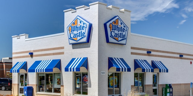Bloomington, United States - June 21, 2014:  White Castle restuarant exterior. White Castle is a fast food restaurant chain and generally credited as the first fast food chain in the United States.