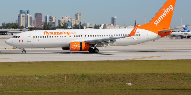 Prosecutors are pushing for the man to pay fines that include the plane's fuel, overtime for Sunwing employees and hotel accommodations for the 170 stranded passengers.