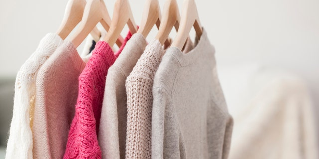 Kondo suggests taking all of the items out of your closet and making a pile.