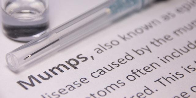 Mumps (epidemic parotitis) Vaccination
