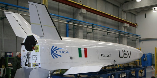 The Italian Center for Aerospace Research (CIRA) is poised to fly its Pollux vehicle, an unmanned space plane prototype, in a drop test aimed at testing in-flight maneuvering capabilities.