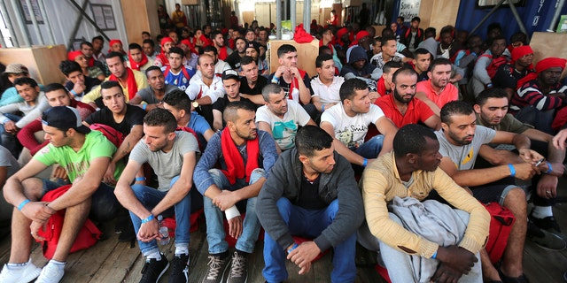 About 614,000 have arrived in Italy from North Africa since 2014. Italy accuses the rest of Europe of not helping to spread the burden.