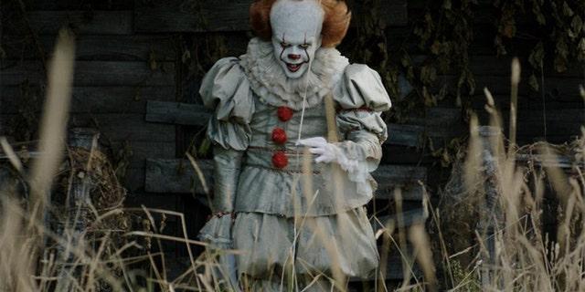 "Bill Skarsgard originally starred as creepy clown Pennywise in 2017's ""It."""