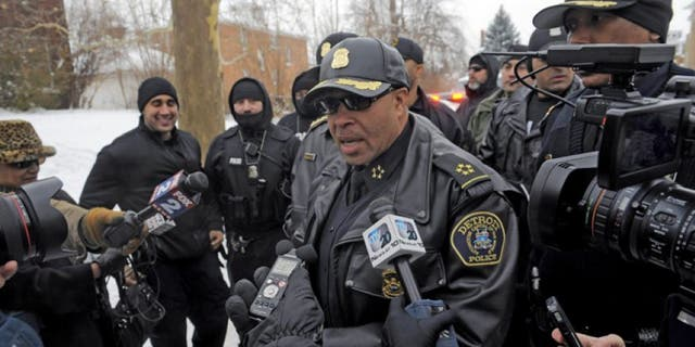 Detroit Police Chief James Craig says legal gun ownership in his city can help stop crime. (AP/Detroit Free Press)