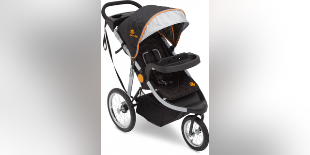 """The recall affects the company's """"J is for Jeep"""" brand cross-country all-terrain jogging strollers."""