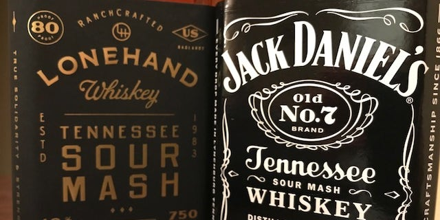In a recent lawsuit, Jack Daniels says Lonehand Whiskey, which is manufactured in Texas, features elements of Jack Daniels Trade Dress.