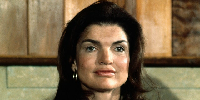 Jackie Kennedy Onassis in 1975.