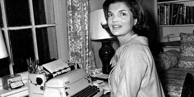 Jackie Kennedy in 1960. AP