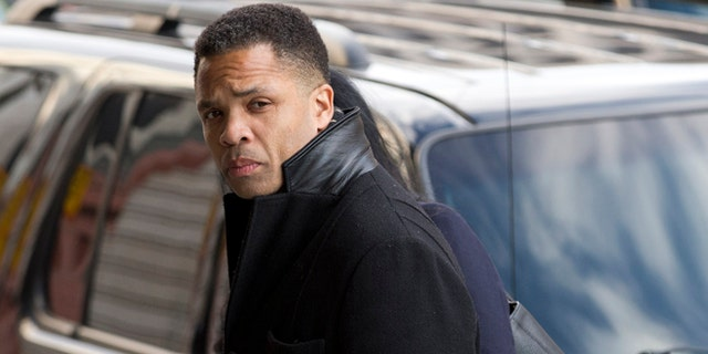 Former U.S. Rep. Jesse Jackson Jr., D-Ill., arrives at the E. Barrett Prettyman Federal Courthouse in Washington, Feb. 20, 2013. (Associated Press)