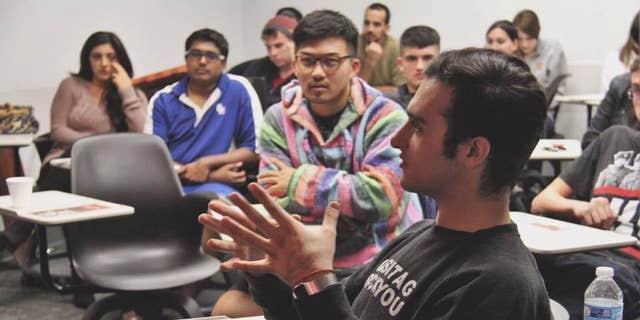 USC student Senator Jacob Ellenhorn
