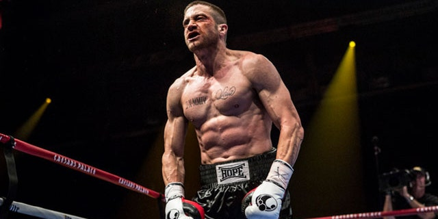 Jake Gyllenhaal lost 30 pounds for his role in 'Nightcrawler,' only to beef up in a big way for his upcoming boxer movie 'Southpaw.'