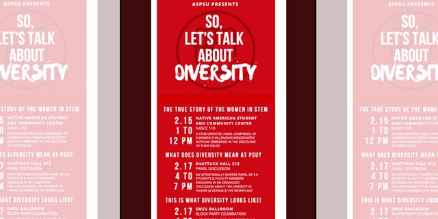 A promotion for the alternative events set up at Portland State University to counter the James Damore talk.
