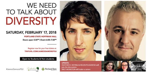 Ex-Google employee James Damore's speech at Portland State University on Saturday has stirred up controversy.