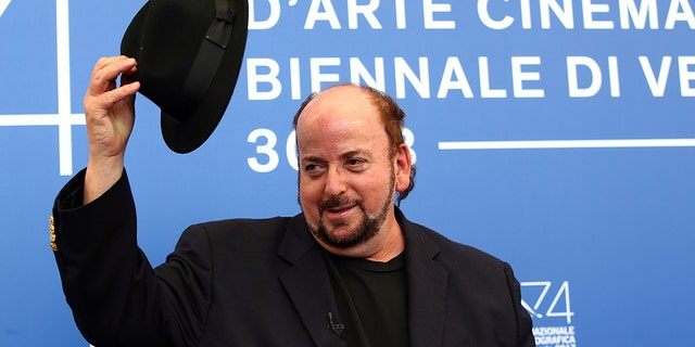 """Director James Toback poses during a photocall for the movie ''The Private Life Of A Modern Woman"""" at the 74th Venice Film Festival in Venice, Italy September 3, 2017. REUTERS/Alessandro Bianchi - RC1BE3DC5D40"""