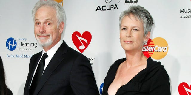 Jamie Lee Curtis and husband Chris Guest.