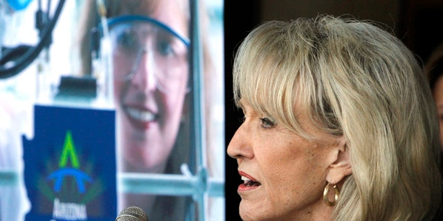 Arizona Gov. Jan Brewer signed the controversial immigration law April 23, 2010.