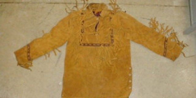 Young woman killed in Ohio in 1981 was wearing a tan fringed buckskin leather poncho. (Miami County Sheriff's Office)