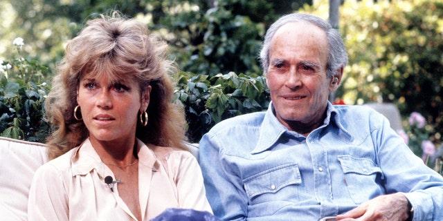 Jane Fonda and Henry Fonda in 1979.
