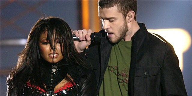 Justin Timberlake famously ripped off Janet Jackson's corset – exposing her breast – during the 2004 Super Bowl Halftime Show.