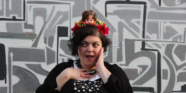 Randa Jarrar, a professor at Fresno State, was applauded at a literary arts festival.