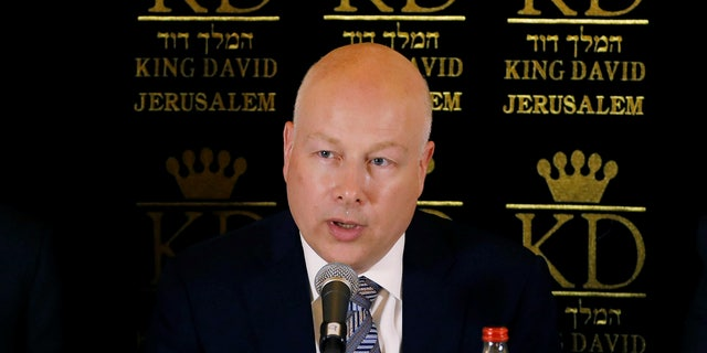 Jason Greenblatt, President Trump's special envoy to the Mideast.