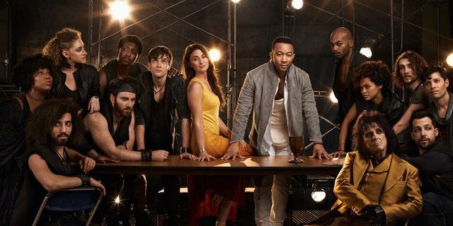 Cast of NBC's 'Jesus Christ Superstar Live in Concert.'