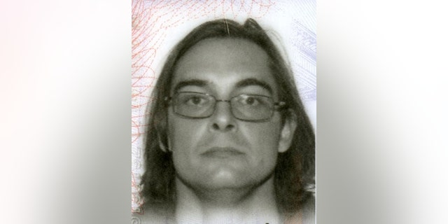 This undated photo shows James Dale Ritchie, who shot and wounded an Anchorage, Alaska police officer over the weekend.