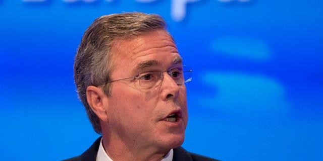 June 9, 2015: Former Florida Gov. Jeb Bush speaks at the Economic Council in Berlin, Germany.