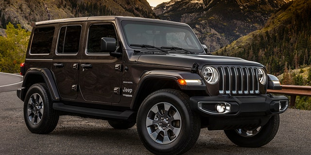 The 2018 Jeep Wrangler will be available with two or four doors.
