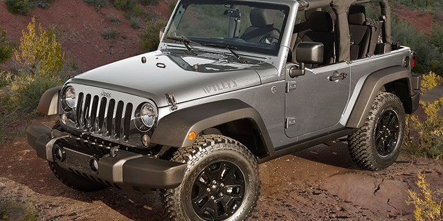 The JK Wrangler has been on sale since 2007.
