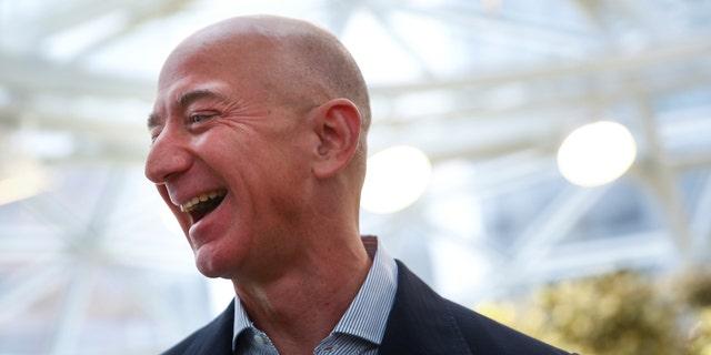 Amazon CEO and founder Jeff Bezos