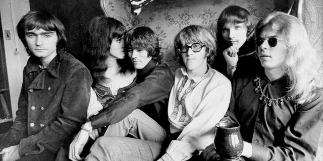 The band Jefferson Airplane from left: Marty Balin, Grace Slick, Spencer Dryden, Paul Kantner, Jorma Kaukonen and Jack Casady.